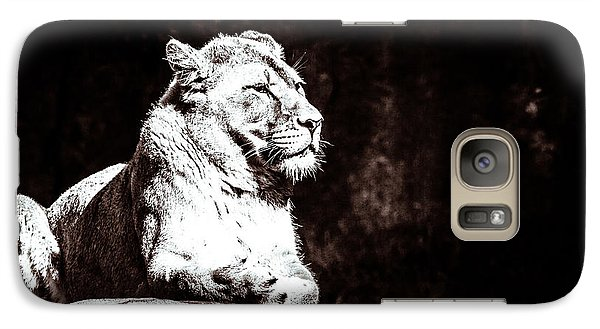 Galaxy Case featuring the photograph You Set My Head Spinning Just Like A Tilt-a-whirl by Wade Brooks
