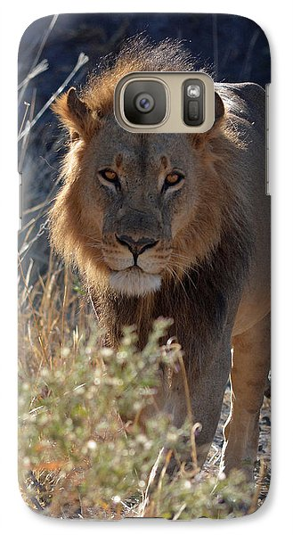 Galaxy Case featuring the photograph You Want Trouble by Allan McConnell