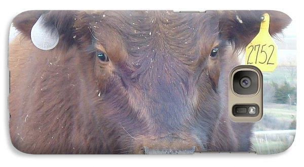 Galaxy Case featuring the photograph Young Angus by J L Zarek