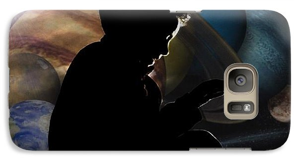 Galaxy Case featuring the photograph Young Astrophysicist - No.9188 by Joe Finney