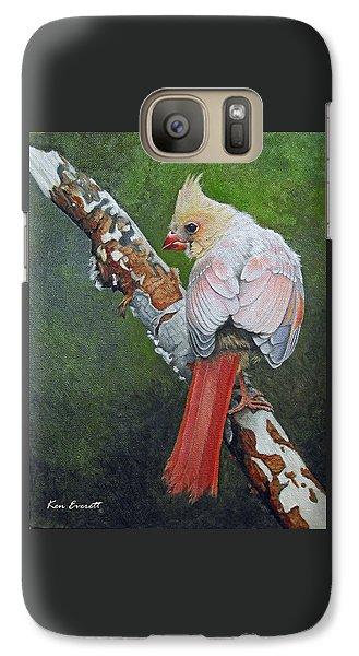 Young Cardinal  Galaxy S7 Case by Ken Everett