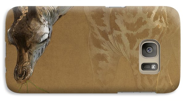 Young Giraffe Galaxy S7 Case by Aaron Blaise
