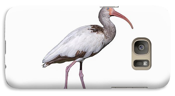 Galaxy Case featuring the photograph Young Ibis Gazing Upwards by John M Bailey