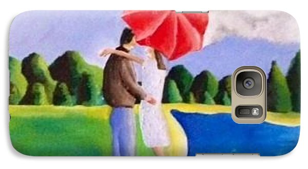 Galaxy Case featuring the painting Young Love  by Inga Kirilova