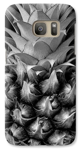 Galaxy Case featuring the photograph Young Pineapple by Ranjini Kandasamy