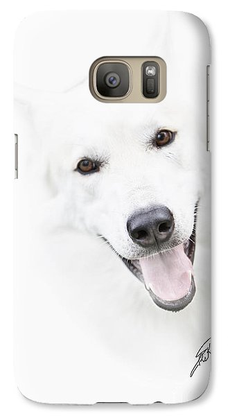 Galaxy Case featuring the digital art Young Wolf by Erika Weber