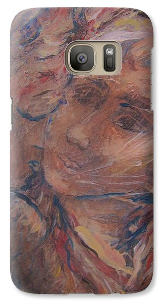 Galaxy Case featuring the painting Your Gifts Detail by Dawn Fisher