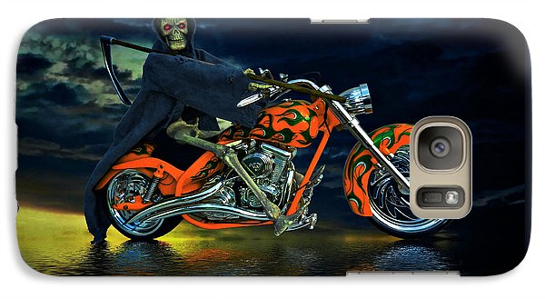 Galaxy Case featuring the photograph Your Ride Awaits by Steven Agius