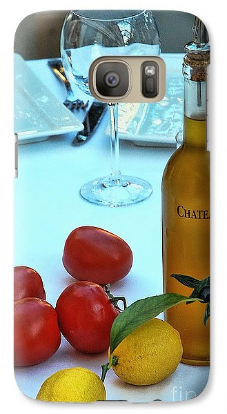 Galaxy Case featuring the photograph Your Table Is Ready by Allen Beatty