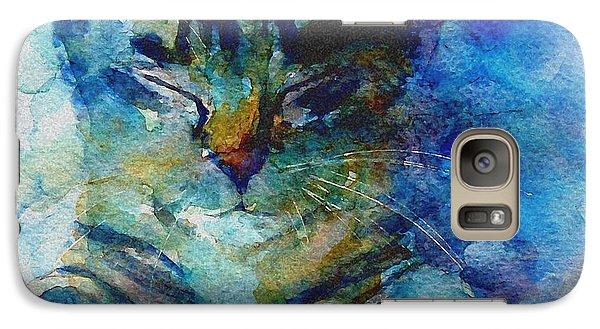 Cat Galaxy S7 Case - You've Got A Friend by Paul Lovering