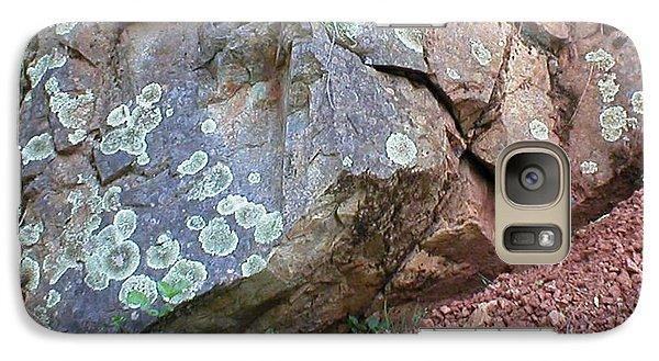 Galaxy Case featuring the photograph Yuba River Rock by Rachel Lowry