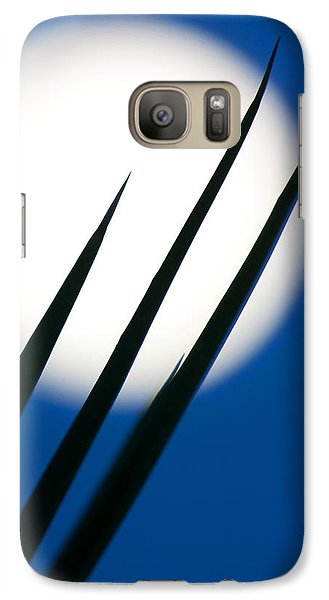 Galaxy Case featuring the photograph Yucca Moon by Jim Garrison
