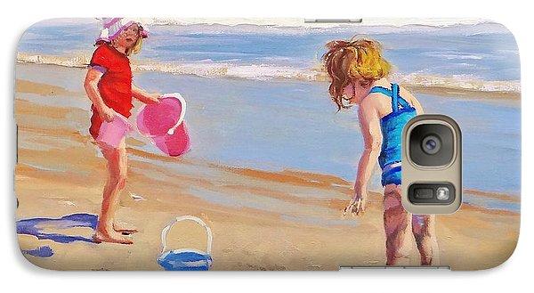 Beach Galaxy S7 Case - Yuck by Laura Lee Zanghetti