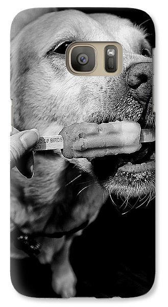 Galaxy Case featuring the photograph Yum Popsicle by Beth Akerman