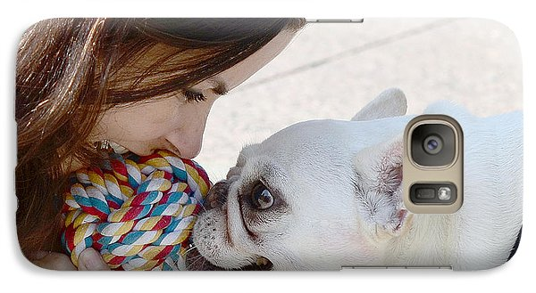 Galaxy Case featuring the photograph Yummmm by Lisa Phillips