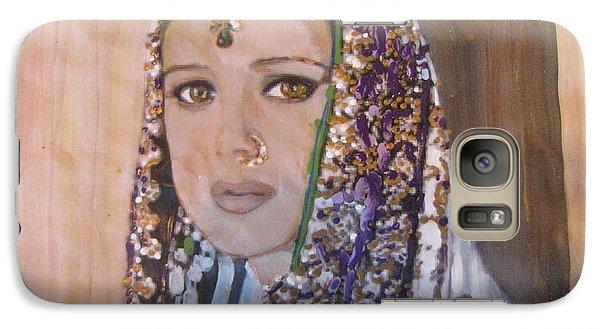 Galaxy Case featuring the painting Zaara From Veer Zaara by Vikram Singh