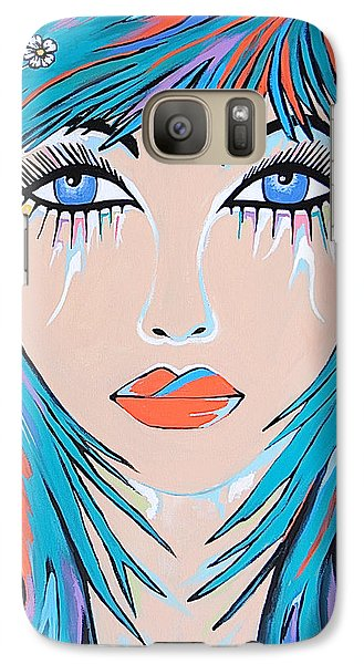 Galaxy Case featuring the painting Zahara by Kathleen Sartoris