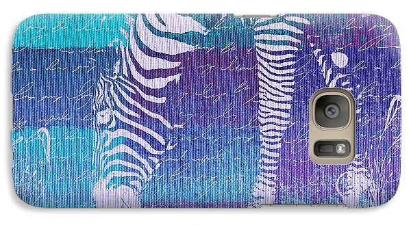 Zebra Art - Bp02t01 Galaxy S7 Case