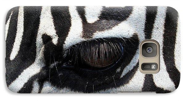 Zebra Eye Galaxy S7 Case