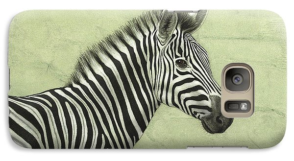 Zebra Galaxy S7 Case - Zebra by James W Johnson