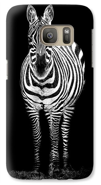 Zebra Galaxy S7 Case - Zebra by Paul Neville