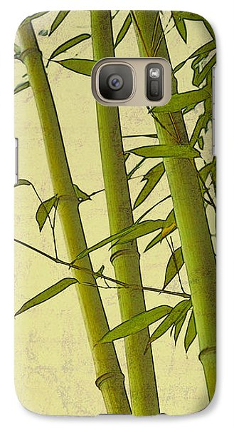 Galaxy Case featuring the photograph Zen Bamboo Abstract I by Marianne Campolongo