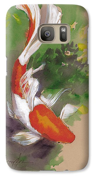 Zen Comet Goldfish Galaxy S7 Case