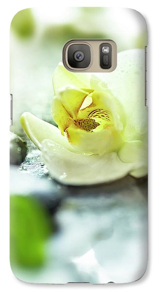 Orchid Galaxy S7 Case - Zen Orchid by #name?