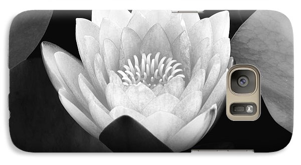 Galaxy Case featuring the photograph Waterlily Rising  by John F Tsumas