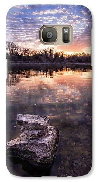 Galaxy Case featuring the photograph Zen by Scott Bean