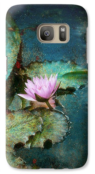Galaxy Case featuring the photograph Zen Water Lily by John Rivera