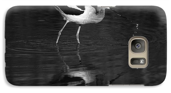 Galaxy Case featuring the photograph Zen Waterdrops  by John F Tsumas