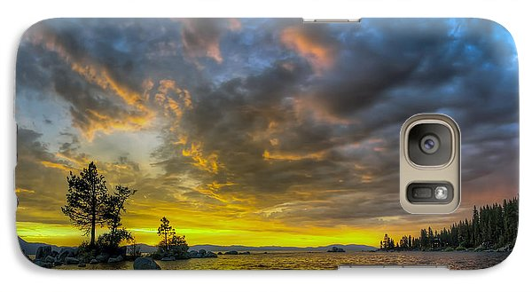 Galaxy Case featuring the photograph Zephyr Cove by Sean Foster