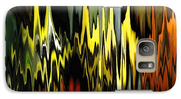 Galaxy Case featuring the digital art Zig Zag by Mary Bedy
