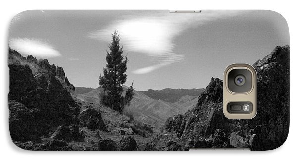Galaxy Case featuring the photograph Zig Zag Sky by Tarey Potter