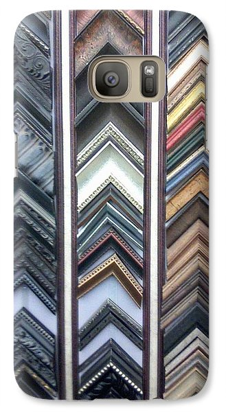 Galaxy Case featuring the photograph Zig Zags by Fortunate Findings Shirley Dickerson