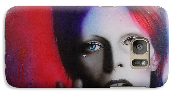 David Bowie - ' Ziggy Stardust ' Galaxy S7 Case