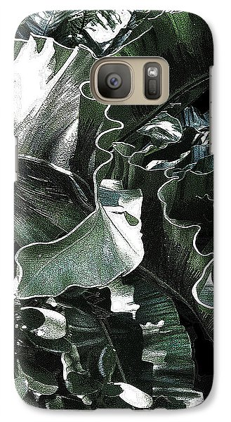 Galaxy Case featuring the photograph Zigzag by Angela Treat Lyon