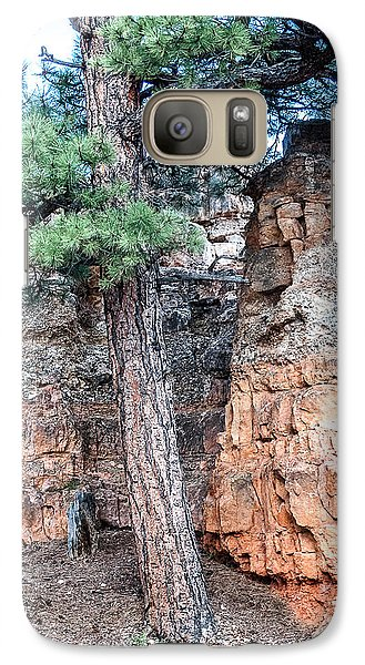Galaxy Case featuring the photograph Zion Nat. Park Lan464 by G L Sarti