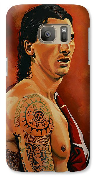 Zlatan Ibrahimovic Painting Galaxy S7 Case
