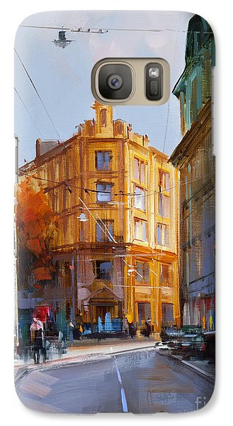 Zlatoustinskiy Alley.  Galaxy S7 Case by Alexey Shalaev