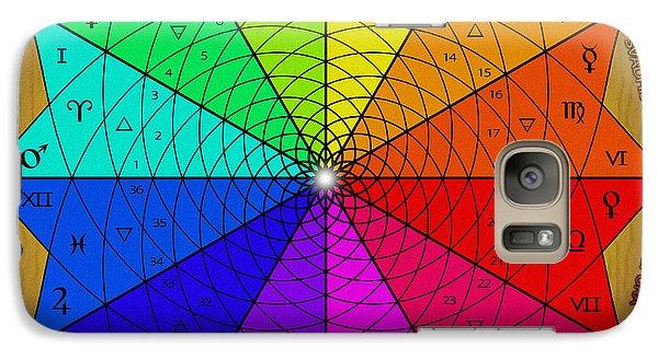 Zodiac Color Star Galaxy S7 Case
