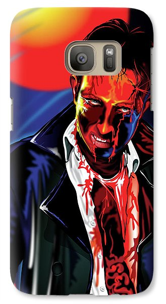 Galaxy Case featuring the drawing Zombie Rezurrection by Brian Gibbs