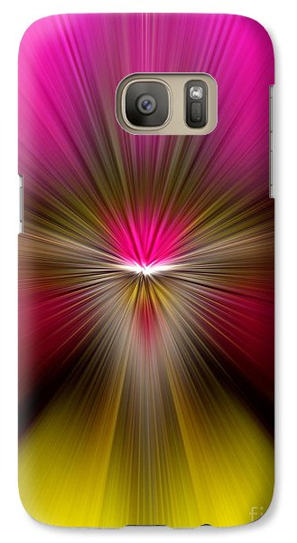 Galaxy Case featuring the digital art Zoom by Trena Mara