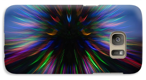 Galaxy Case featuring the photograph Zooming Up by Vladimir Kholostykh