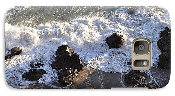 Galaxy Case featuring the photograph Zuma Beach by Gandz Photography