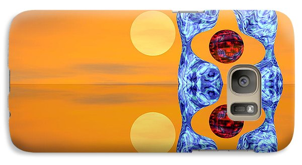 Galaxy Case featuring the digital art  An Artistic Colored And Fantasy by Odon Czintos