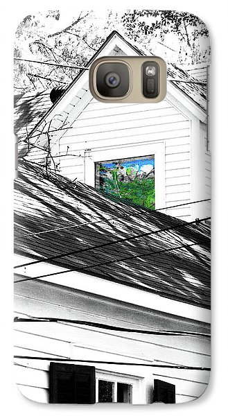 Galaxy Case featuring the digital art  Beauregard Attic Baton Rouge by Lizi Beard-Ward