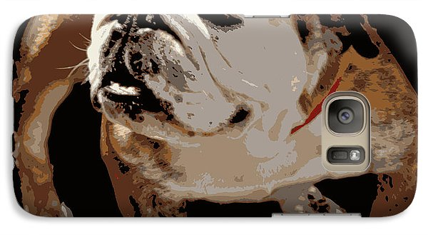 Galaxy Case featuring the photograph  Bulldog  by Mindy Bench
