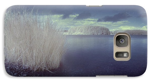 Galaxy Case featuring the photograph  Infrared At Llyn Brenig by Beverly Cash
